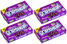 4x The Original Grapehead Grape Candy American Sweets