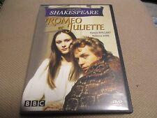 """DVD """"ROMEO ET JULIETTE"""" Patrick RYECART, Rebecca SAIRE / Alvin RAKOFF - BBC"""