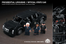Brickmania Presidential Limousine (Joe Biden, Kamala Harris) - Brand New Kit