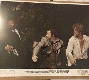 "Burt Reynolds signed photo still from ""Shamus"" legendary actor"