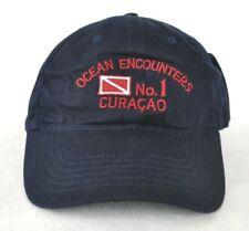 *OCEAN ENCOUNTERS CURACAO* Caribbean Islands Scuba diving Ball cap hat *OURAY*