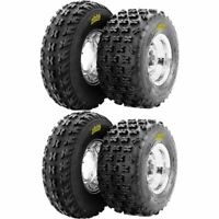 21x7-10, 20x11-9 ITP Holeshot XCR Front & Rear ATV UTV Tire Kit - 4 Tires