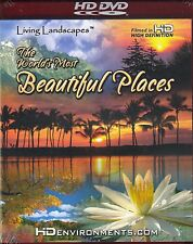 Living Landscapes: WORLD'S MOST BEAUTIFUL PLACES VIRTUAL DVD for your HDTV! NEW!