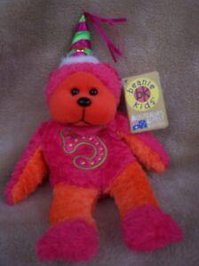 Beanie Kids CELEBRATE 5th Birthday BK 293 Premier Exclusive Retired Rare