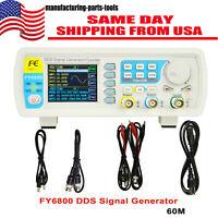 60MHz Precision Digital DDS Dual-channel Function Signal Generator FY6800