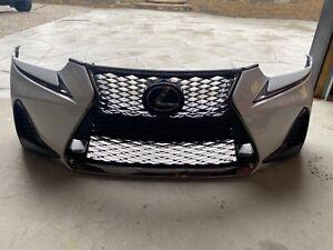 2017-2019 Lexus IS F Sport Bumper cover complete