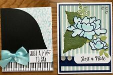 Just a Note Handmade Greeting Cards (Set of TWO)