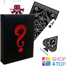 THEORY 11 MYSTERY DECK BLACK EDITION PLAYING CARDS MAGIC TRICKS SEALED NEW