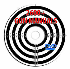 NEW 2600 Gun Manuals-Carbine-Firearm-Gunsmith-Pistol-Revolver-Rifle-Shotgun-DVD