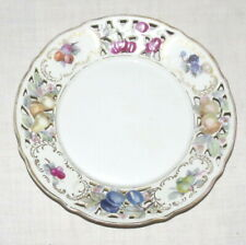 Schumann 7.5 inch Pierced Salad Plate - Fruit patterns