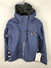 Bonfire Teddy Snowboard Jacket Denim Gold Series Limited Edition 15K/10K Women's