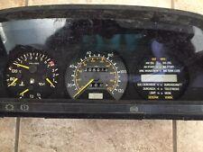 Mercedes W126 500sel 560SEL RARE Euro Trip Instrument Cluster Speedometer