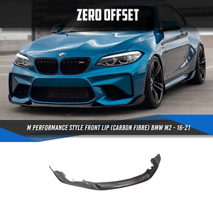 ZERO OFFSET 19-20 BMW M2 Competition (M2C) Style Front Lip (Carbon Fibre)