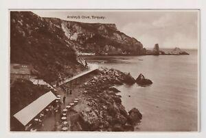 Devon Postkarte - Ansteys Bucht, Torquay - (A3571)