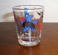 "Texas ""Armadillo-Flag"" Souvenir Shot Glass"