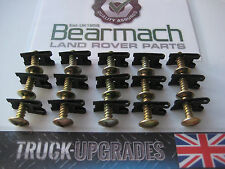 Land Rover Series 2, 2a, 3, Defender 90, 110, Floor Plate Panel Screws Nuts x15
