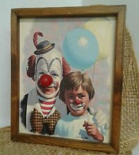 Music Box Clown Picture Send In The Clowns Arthur Sarnoff Ringo 1979 Signed