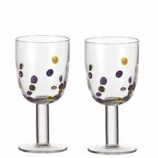 Set di due Leonardo Millefiori Grande rosso vino in vetro
