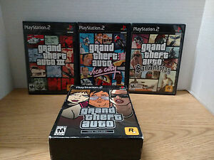 ** Grand Theft Auto: The Trilogy (Sony PlayStation 2, 2006)
