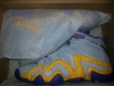 Adidas Crazy 8 Jeremy Lin PE SIZE sz 10 2014 LAKERS GREY YELLOW PURPLE eight