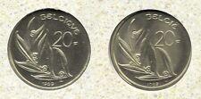 20 frank 1989 fr+vl * uit muntenset * FDC / UNC *