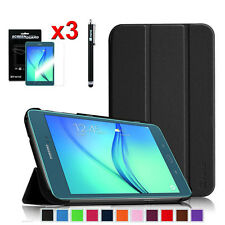 For Samsung Galaxy Tab A 8.0 Slim Megentic Cover Case, Screen Protector,Stylus