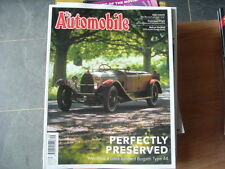 The Automobile September Monthly Transportation Magazines