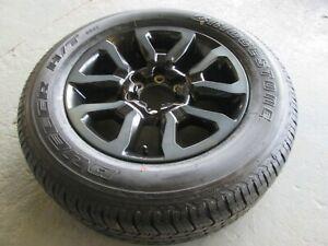Toyota hilux  invincible  alloy wheel and tyre 265/60/18  Bridgestone 2020-2022.