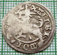 LITHUANIA Aleksander Jagiellonczyk 1495 - 1506 HALFGROAT, KNIGHT ON HORSEBACK Ag