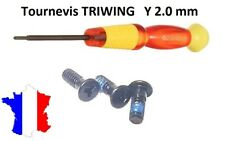 tournevis triwing Y 2.0 aimanté pour Apple Macbook / Pro / Unibody / Air