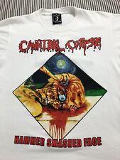 Canibal Corpse T Shirt S White Underground Nacho Pop Hardcore Punk Rock Metal