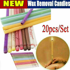 20 PCS Ear Wax Cleaner Remover Candles Set Healthy Treatment Earwax Removal Tool