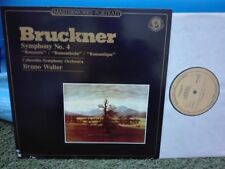 BRUCKNER: Symphony n°4 Romantic > Columbia SO Walter / CBS stereo LP Holland NM