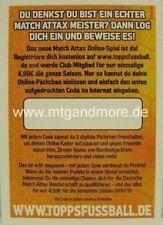 Match Attax BundesligaLive 23x Online Code 10/11