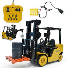 1:8 Scale 11 Channel Forklift Truck Toy Xmas Electric Remote Control Car Gift UK