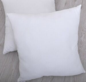 Premium Quality100% Cotton Waffle Weave Continental Pillow 65 x 65 cm Made in UK