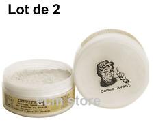 COMME AVANT Lot 2 Dentifrice Naturel Mentholé en poudre au Siwak 45 g x 2 /EBII