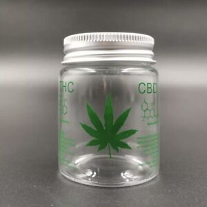Weed Stash Smell Proof Glass Lid Storage Small Jar Sealed Container Air Tight