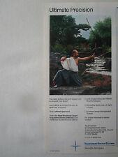 5/1990 PUB TELEFUNKEN DEUTSCHE AEROSPACE HMTAS TARGET ACQUISITION ARC BOW AD