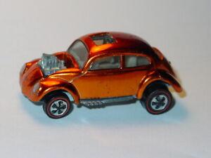 HOT WHEELS REDLINE US CUSTOM VOLKSWAGEN VW BUG -Orange Spectraflame, NICE!