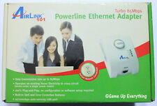 AirLink 101 Powerline Ethernet Adapter APL8511 Turbo 85Mbps *NEW*