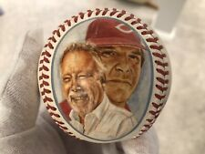 Pete Rose, Bart Giamatti Signed Bogyo PopArt Baseball