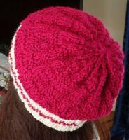 Hand Knitted Beanie Women's Hat Australia Made
