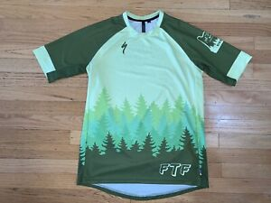 Specialized Enduro Sport SS Jersey.  Men's Medium.  Fat Tire Farm. Portland OR