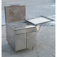 Pitco 26-S Natural Gas Fryer, Used Very Good Condition