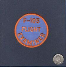 Original F-105 THUNDERCHIEF Flight Examiner USAF ANG TFS Squadron Patch