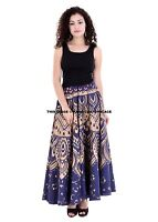 Indian Ombre Style Cotton Wrap Around Full Length Skirt Free Size Mandala Skirt