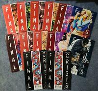 DC FINAL CRISIS #7 #1-7 + BONUS 1ST CALVIN ELLIS BLACK SUPERMAN. VF/NM 14 COMICS