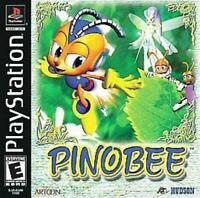 Pinobee Playstation 1 Game PS1 Used