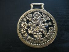 Horse Harness Brass Medallion Bridle Ornament SIX PENCE 1953